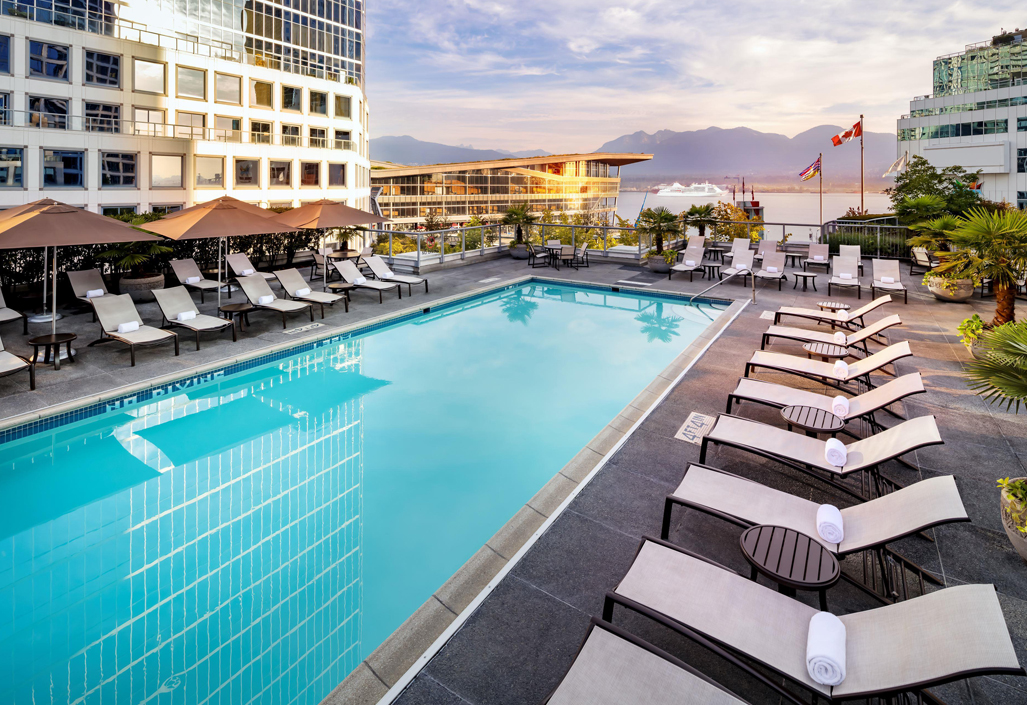 Fairmont Waterfront Rooftop Outdoor Heated Pool