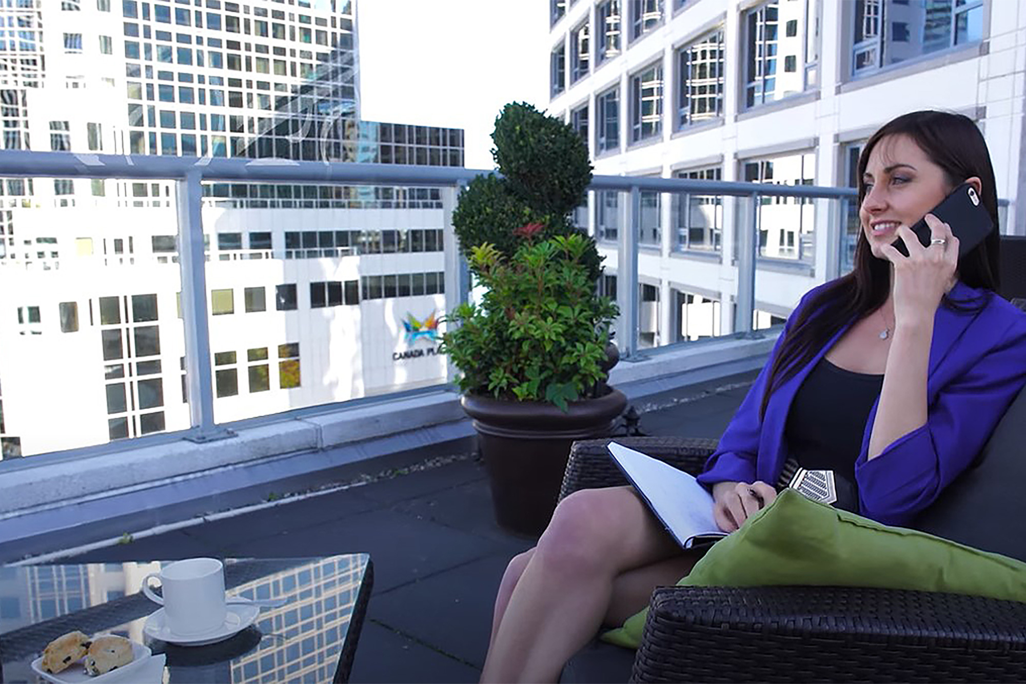 Meeting planner at Fairmont Waterfront